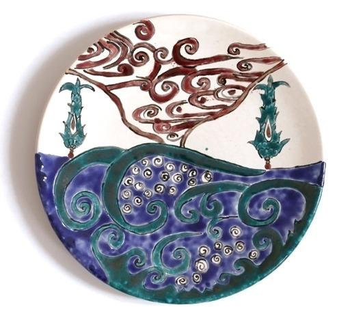 assiette cyprès