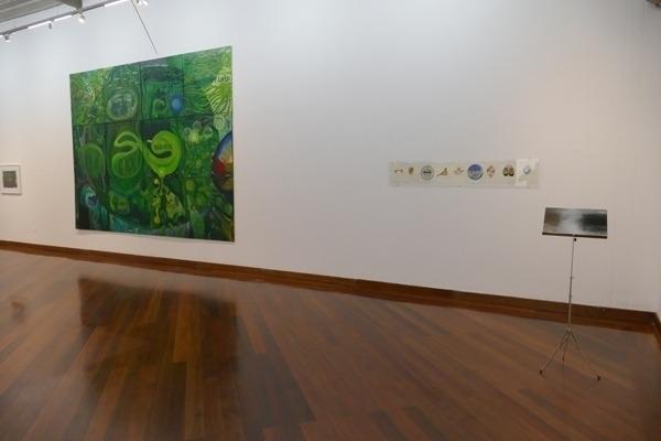 expo avec Michael Arantes Muller